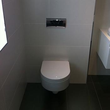 Built-in toilet unit