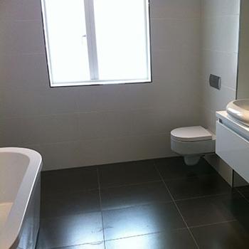 Simple new bathroom