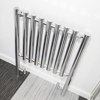 Modern stainless steel radiator